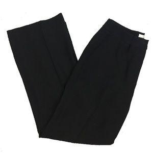 Chico's Size 0.5 Black Straight Leg Trouser Pants